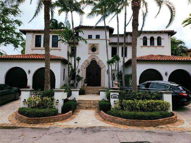 429 Coconut Isle Dr, Fort Lauderdale, FL 33301 (MLS #F10277175) :: The Paiz Group