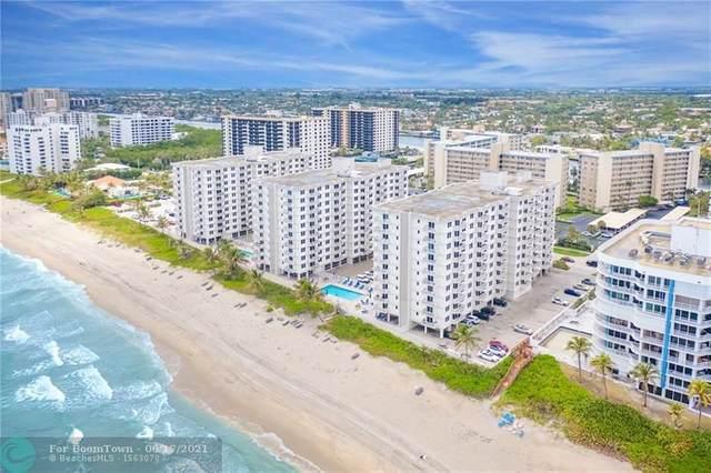3215 S Ocean Boulevard #404, Highland Beach, FL 33487 (#F10279332) :: Baron Real Estate