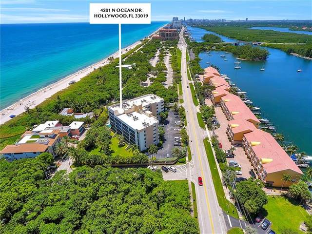 4201 N Ocean Dr #505, Hollywood, FL 33019 (MLS #F10280277) :: Castelli Real Estate Services