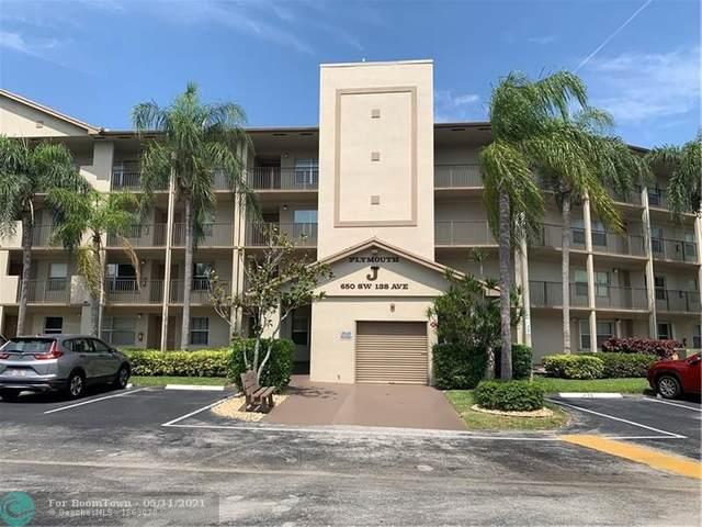 650 SW 138th Ave J407, Pembroke Pines, FL 33027 (MLS #F10280666) :: Castelli Real Estate Services