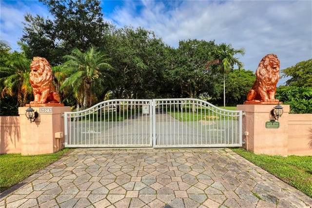 5075 SW 73rd Ave, Davie, FL 33314 (MLS #F10280823) :: Green Realty Properties