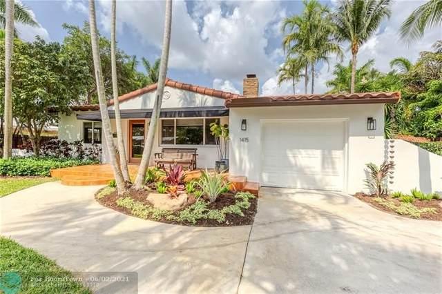1415 Coral Ridge Dr, Fort Lauderdale, FL 33304 (#F10281888) :: Michael Kaufman Real Estate