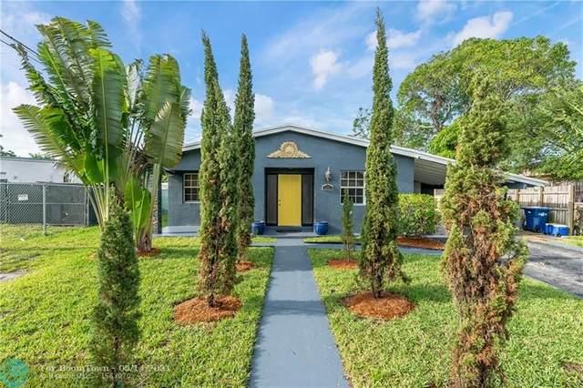 3350 NW 4th St, Lauderhill, FL 33311 (#F10283882) :: Michael Kaufman Real Estate