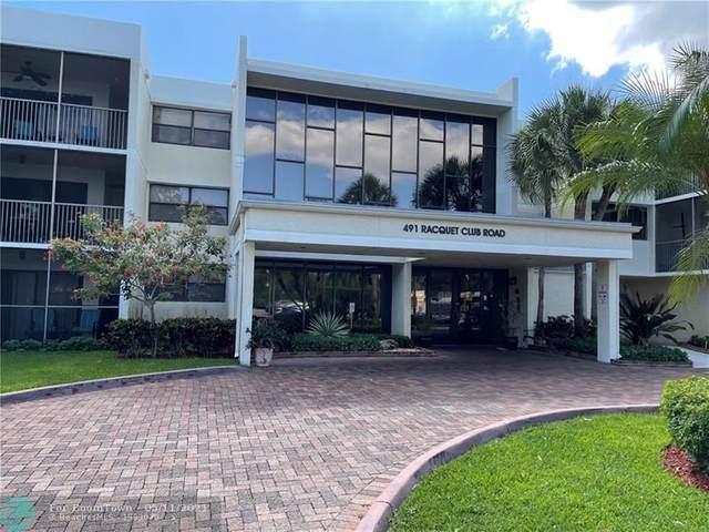 491 Racquet Club Rd #109, Weston, FL 33326 (MLS #F10283984) :: Berkshire Hathaway HomeServices EWM Realty