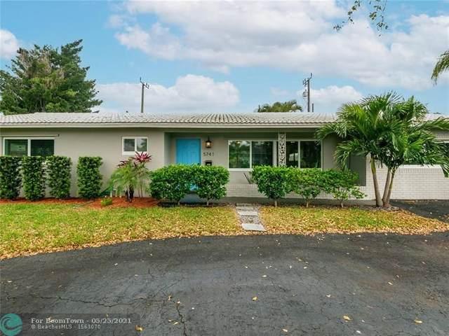 5741 NE 18th Ter, Fort Lauderdale, FL 33308 (#F10284007) :: Michael Kaufman Real Estate