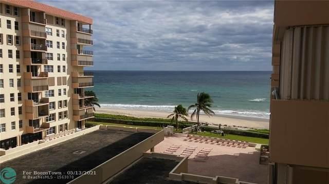 1147 Hillsboro Mile 605 S, Hillsboro Beach, FL 33062 (MLS #F10284149) :: Dalton Wade Real Estate Group