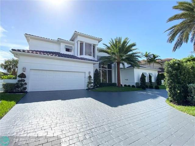 3730 N.E. 27th Terrace, Lighthouse Point, FL 33064 (#F10284242) :: Michael Kaufman Real Estate