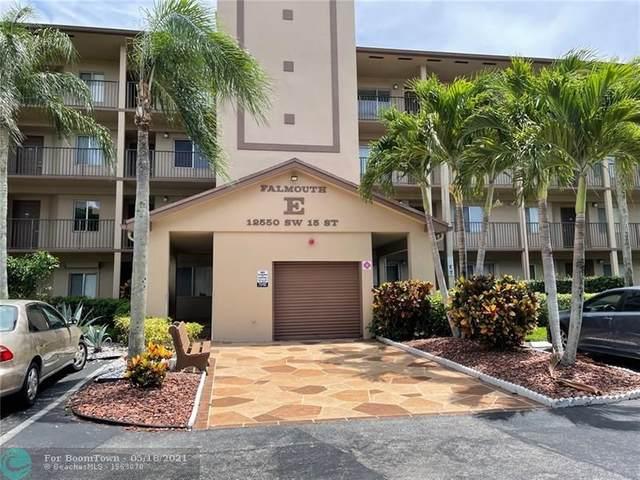12550 SW 15th St 102E, Pembroke Pines, FL 33027 (#F10284858) :: Baron Real Estate