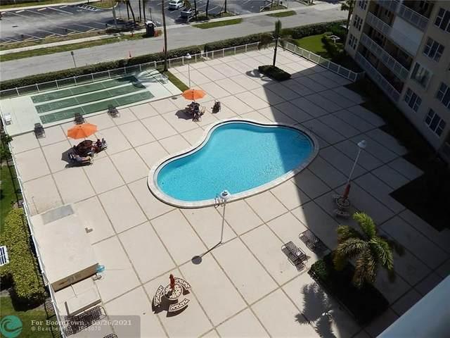 201 N Ocean Bl #703, Pompano Beach, FL 33062 (#F10284936) :: Michael Kaufman Real Estate