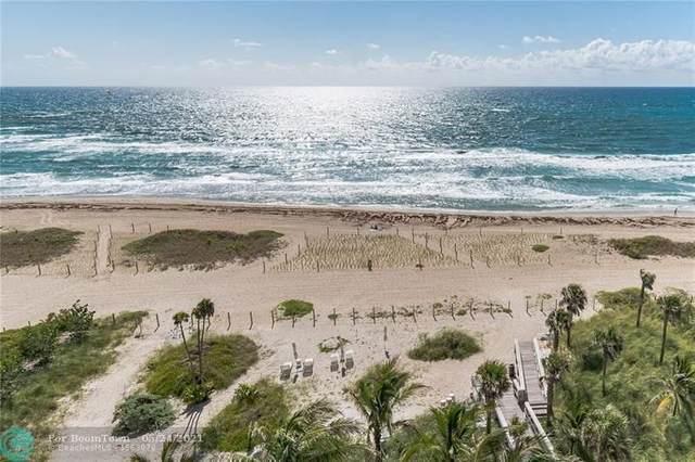 730 N Ocean Blvd #703, Pompano Beach, FL 33062 (#F10285464) :: Baron Real Estate