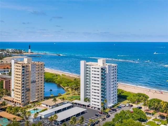 1610 N Ocean Blvd #104, Pompano Beach, FL 33062 (#F10285793) :: Baron Real Estate