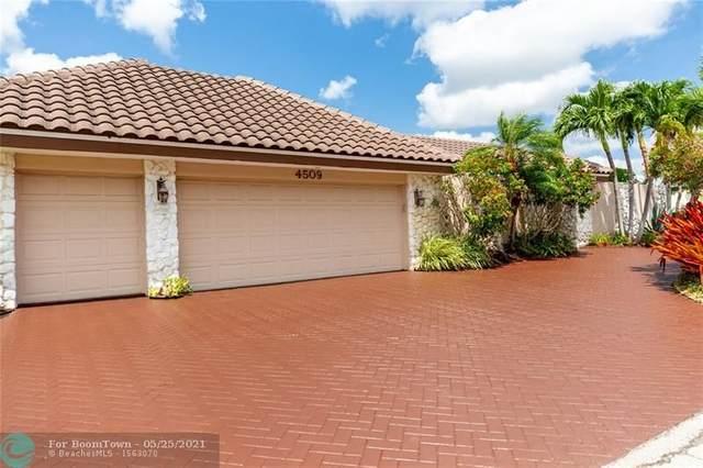 4509 King Palm Dr, Tamarac, FL 33319 (#F10285828) :: Michael Kaufman Real Estate