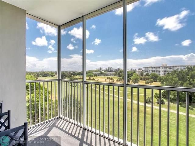 2850 N Palm Aire Dr #603, Pompano Beach, FL 33069 (MLS #F10286534) :: Berkshire Hathaway HomeServices EWM Realty