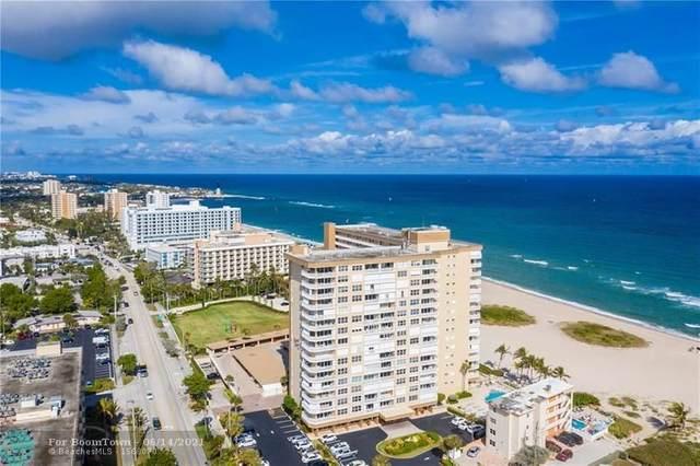1012 N Ocean Blvd #508, Pompano Beach, FL 33062 (#F10287239) :: DO Homes Group