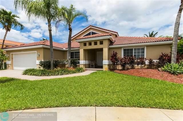 935 NW 202st Terrace, Pembroke Pines, FL 33029 (#F10287243) :: Michael Kaufman Real Estate