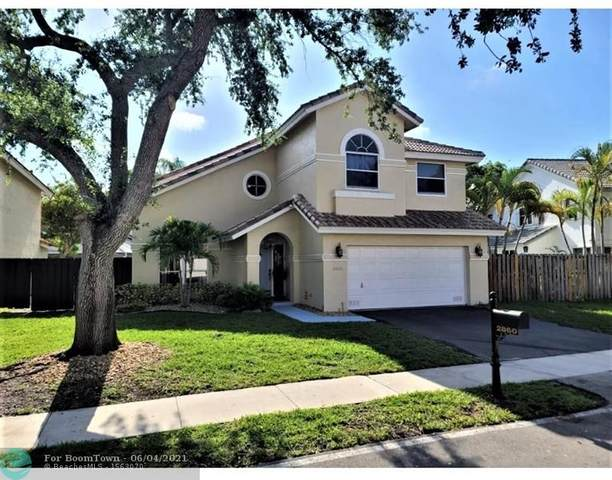 2860 NW 69th Ter, Margate, FL 33063 (#F10287256) :: Michael Kaufman Real Estate
