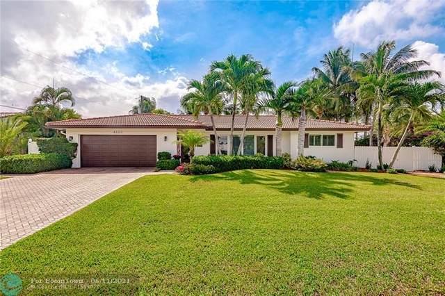 4100 NE 26th Ter, Lighthouse Point, FL 33064 (#F10287931) :: Michael Kaufman Real Estate
