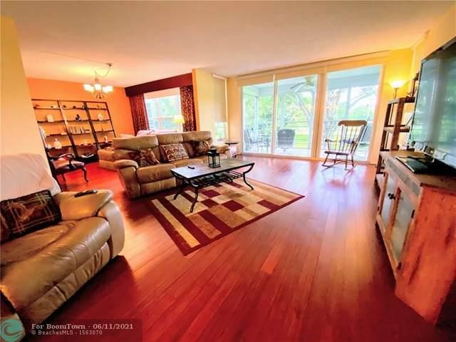 821 Cypress Blvd #202, Pompano Beach, FL 33069 (MLS #F10288234) :: Berkshire Hathaway HomeServices EWM Realty