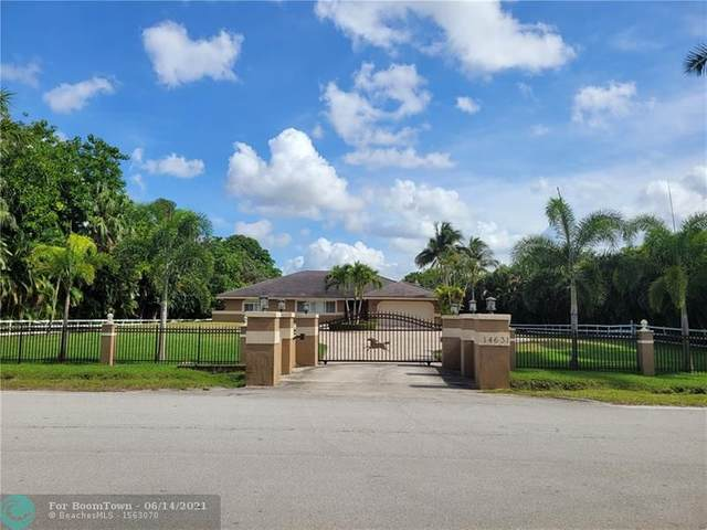14631 Mustang Trl, Southwest Ranches, FL 33330 (MLS #F10288526) :: The Paiz Group