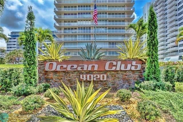 4020 Galt Ocean Dr #606, Fort Lauderdale, FL 33308 (#F10289110) :: Dalton Wade