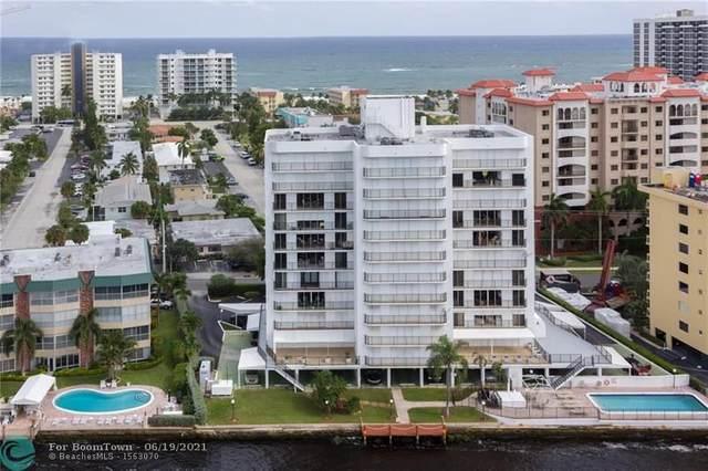 701 N Riverside Dr #903, Pompano Beach, FL 33062 (#F10289674) :: Posh Properties