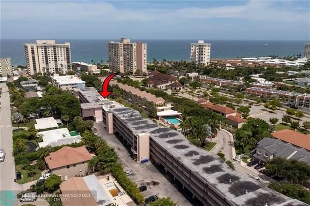 1967 S Ocean Blvd #308, Pompano Beach, FL 33062 (#F10289760) :: Heather Towe | Keller Williams Jupiter