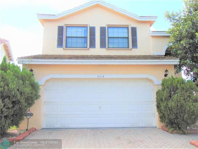 3414 NW 112th Way, Coral Springs, FL 33065 (#F10290632) :: DO Homes Group