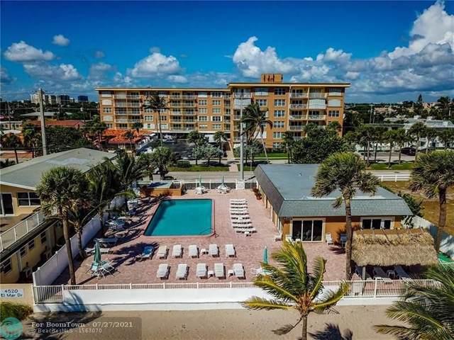 4540 N Ocean #209, Lauderdale By The Sea, FL 33308 (#F10291193) :: Dalton Wade