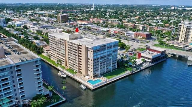 3100 NE 49th St #1010, Fort Lauderdale, FL 33308 (#F10293174) :: Michael Kaufman Real Estate