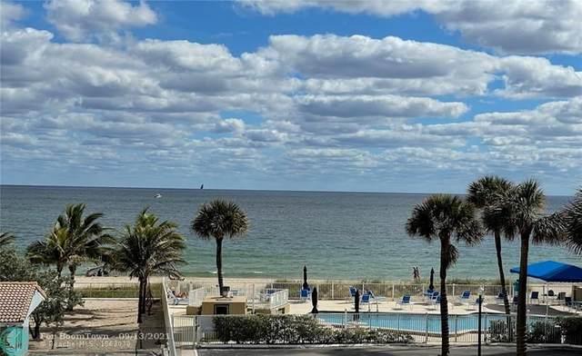 4050 N Ocean Drive #307, Lauderdale By The Sea, FL 33308 (MLS #F10293374) :: Green Realty Properties