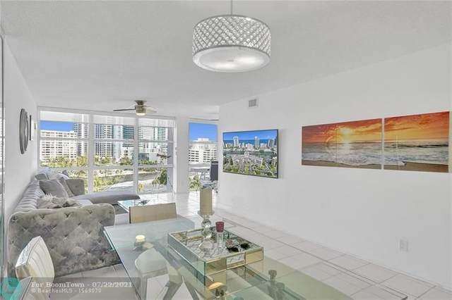 800 Parkview Dr #824, Hallandale Beach, FL 33009 (#F10293618) :: Treasure Property Group