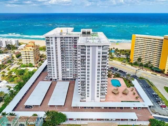 405 N Ocean Blvd #1103, Pompano Beach, FL 33062 (#F10293682) :: Baron Real Estate
