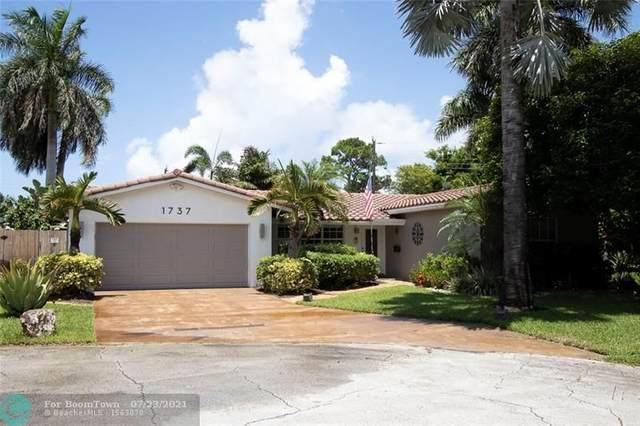 1737 NE 58th St, Fort Lauderdale, FL 33334 (MLS #F10293715) :: Berkshire Hathaway HomeServices EWM Realty