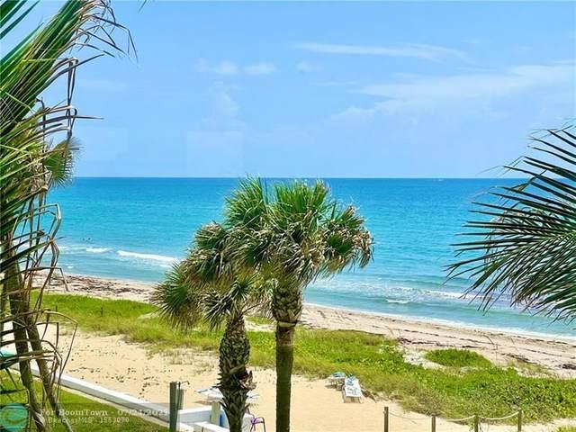 1043 Hillsboro Mile 3D, Hillsboro Beach, FL 33062 (#F10293958) :: Ryan Jennings Group