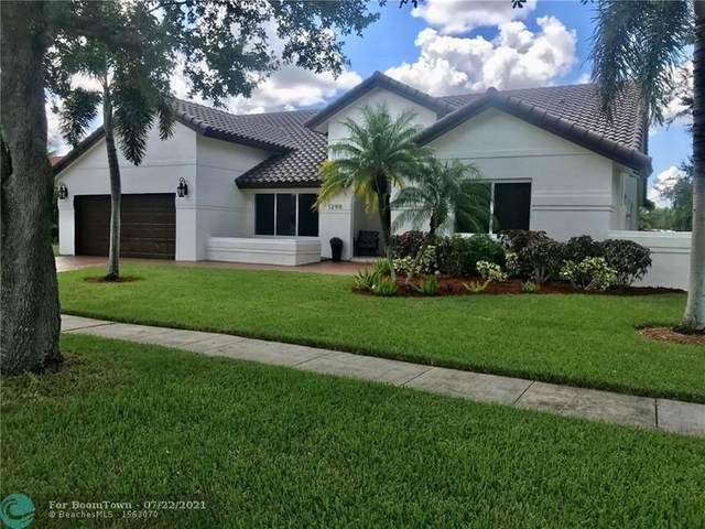 1290 NW 161st Ave, Pembroke Pines, FL 33028 (#F10293963) :: Dalton Wade