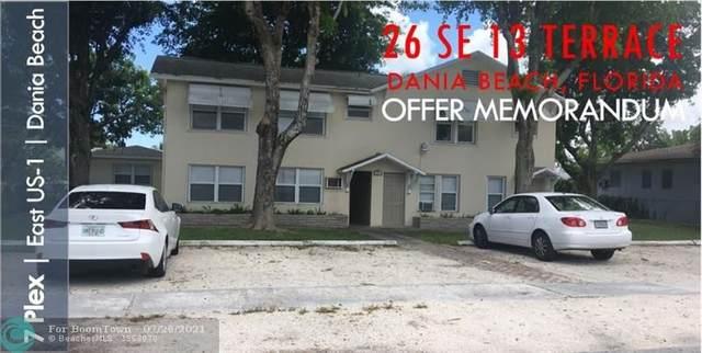 26 SE 13th Ter, Dania Beach, FL 33004 (#F10294045) :: DO Homes Group