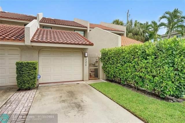 206 Washingtonia Avenue #206, Lauderdale By The Sea, FL 33308 (MLS #F10294137) :: Berkshire Hathaway HomeServices EWM Realty