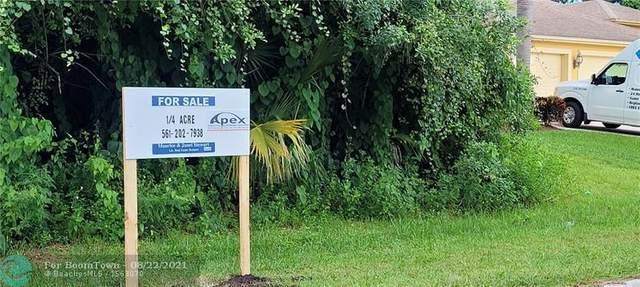 320 SW Enon St, Port Saint Lucie, FL 34953 (MLS #F10295445) :: Castelli Real Estate Services