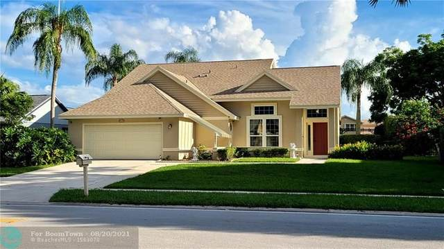 6405 Indian Wells Blvd, Boynton Beach, FL 33437 (MLS #F10297510) :: Castelli Real Estate Services