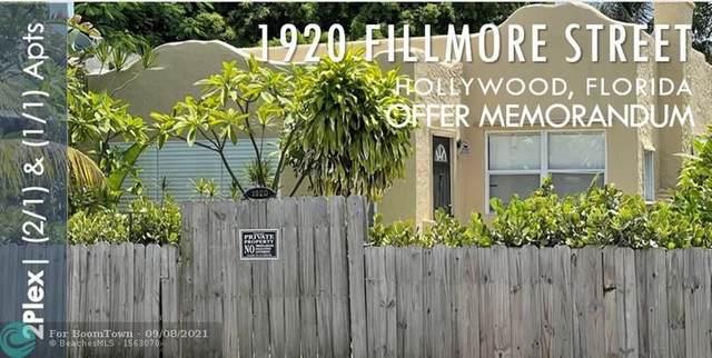 1920 Fillmore, Hollywood, FL 33020 (MLS #F10299136) :: Castelli Real Estate Services