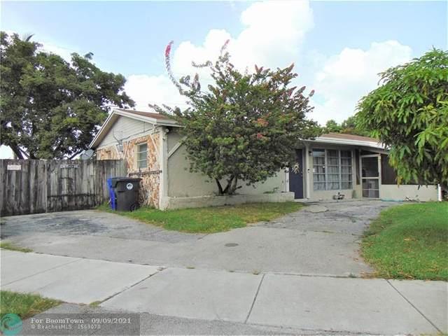 6911 SW 17th St, North Lauderdale, FL 33068 (#F10299410) :: Michael Kaufman Real Estate