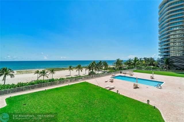 750 N Ocean Blvd #403, Pompano Beach, FL 33062 (#F10300661) :: The Rizzuto Woodman Team