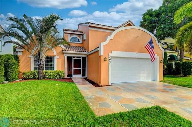 3651 NW 71st St, Coconut Creek, FL 33073 (MLS #F10302129) :: Castelli Real Estate Services