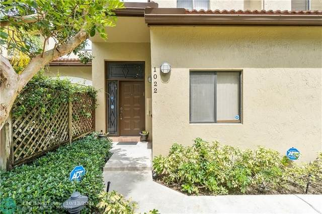 1022 NW 105th Ave #1022, Plantation, FL 33322 (MLS #F10303132) :: Green Realty Properties