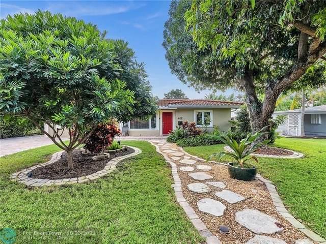 412 NE 10th Ave, Pompano Beach, FL 33060 (#F10303954) :: Michael Kaufman Real Estate