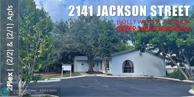 2141 Jackson Street, Hollywood, FL 33020 (MLS #F10304134) :: Castelli Real Estate Services