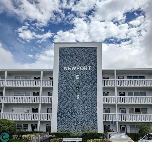 3012 Newport G #3012, Deerfield Beach, FL 33442 (MLS #F10305136) :: Berkshire Hathaway HomeServices EWM Realty
