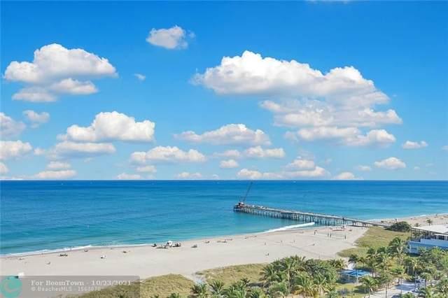 328 N Ocean Blvd #807, Pompano Beach, FL 33062 (#F10305370) :: Posh Properties