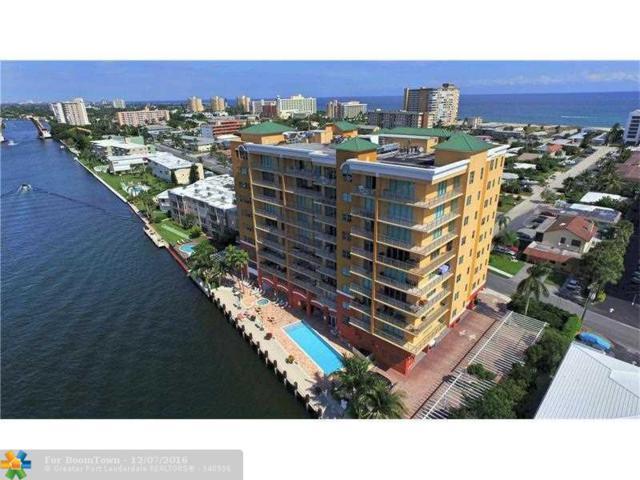 821 N Riverside Dr #505, Pompano Beach, FL 33062 (MLS #F10012569) :: Green Realty Properties