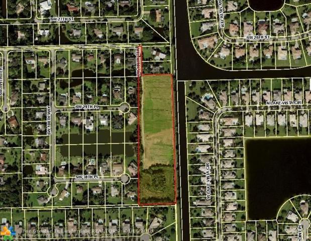 10500 SW 27th Ct, Davie, FL 33328 (MLS #F10057975) :: Green Realty Properties